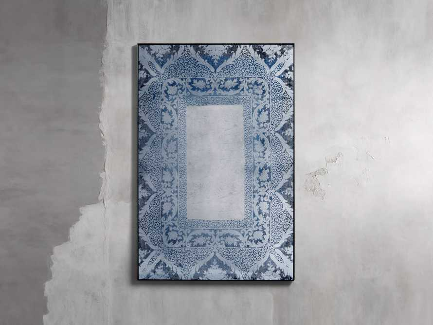 Solange Wall Mirror in Blue, slide 1 of 2
