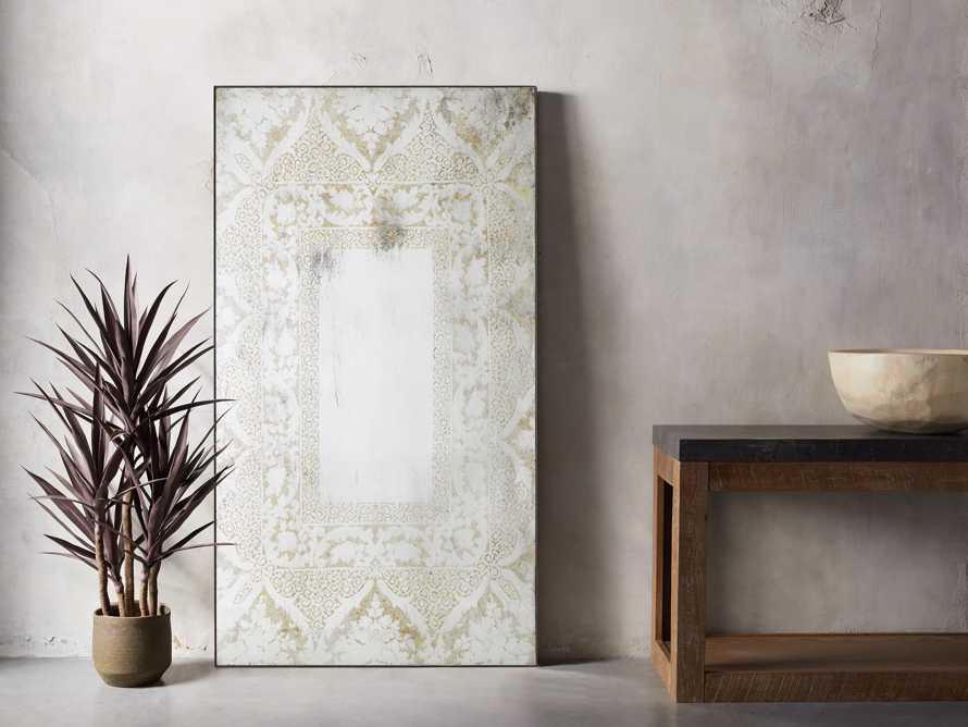 "Solange 42"" x 76"" Mirror in White, slide 1 of 3"