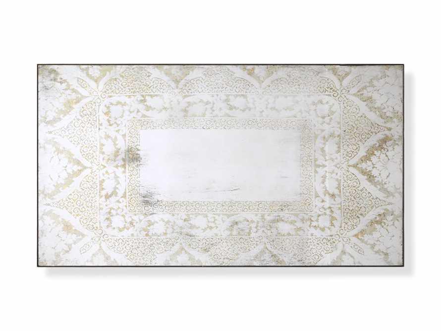 "Solange 42"" x 76"" Mirror in White, slide 3 of 3"