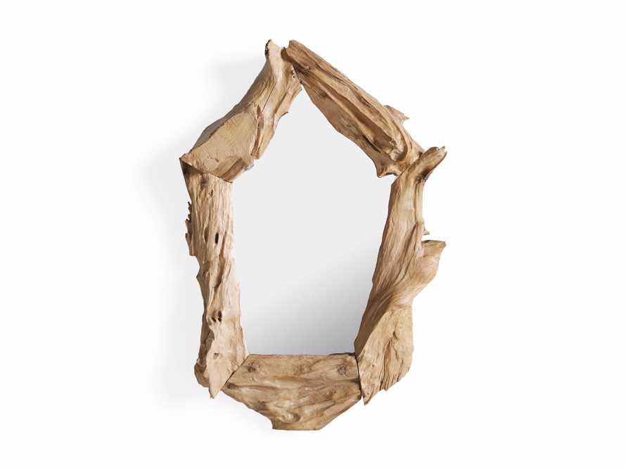 """Teak Root 15.75"""" Wall Mirror, slide 5 of 5"""