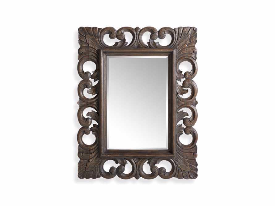 "Porter 41"" Mirror in Dark Brown, slide 3 of 3"