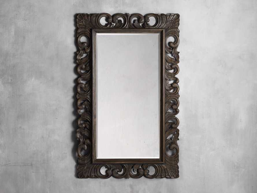 "Porter 53"" Large Mirror in Dark Brown, slide 3 of 5"