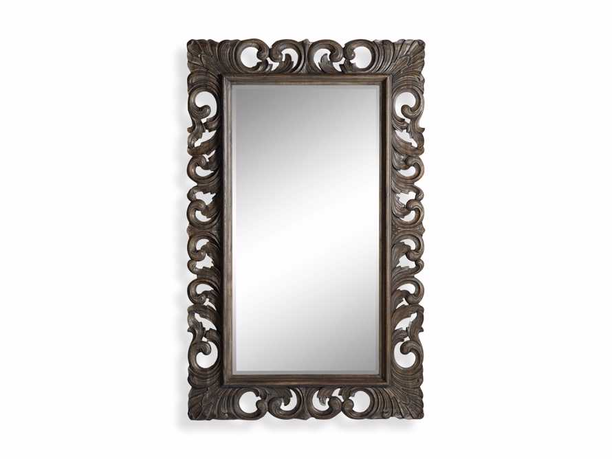 "Porter 53"" Large Mirror in Dark Brown, slide 5 of 5"