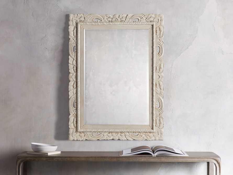 Natural Calla Mirror, slide 1 of 3