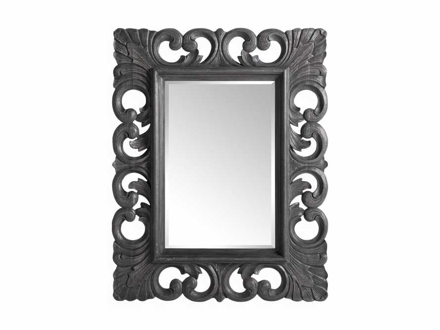 "Porter 52"" Wall Mirror in Black, slide 4 of 4"