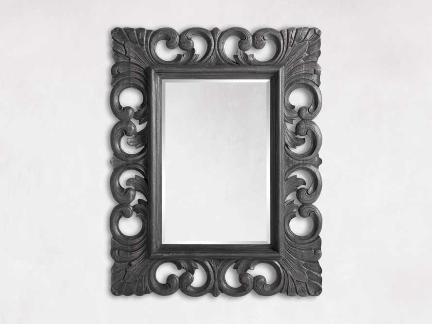 "Porter 52"" Wall Mirror in Black, slide 3 of 4"