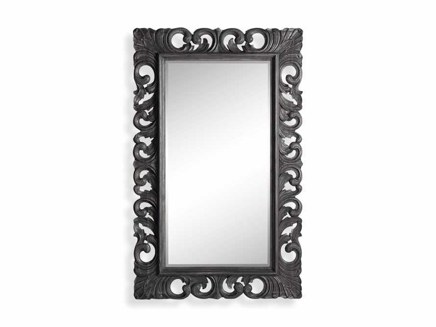 """Porter 84"""" Floor Mirror in Black, slide 5 of 5"""