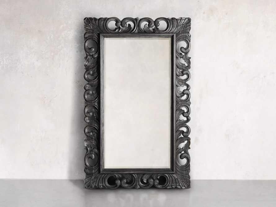 """Porter 84"""" Floor Mirror in Black, slide 4 of 5"""