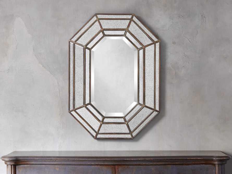 """Juliette 32"""" Octagonal Mirror"""