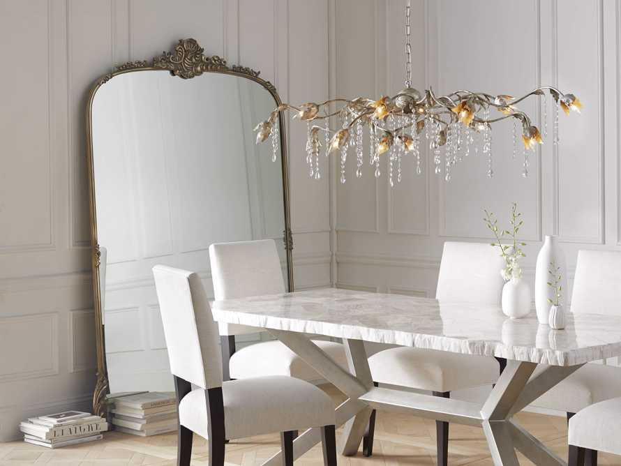 Amelie Grand Mirror In Gold Arhaus