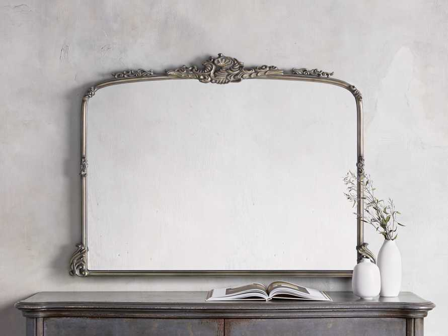 AMELIE DRESSER MIRROR IN SILVER, slide 1 of 5