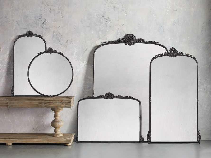 """Amelie 28"""" Wall Mirror in Black, slide 3 of 4"""