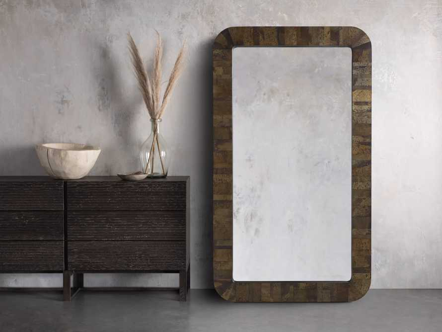 Acero Floor Mirror, slide 1 of 3