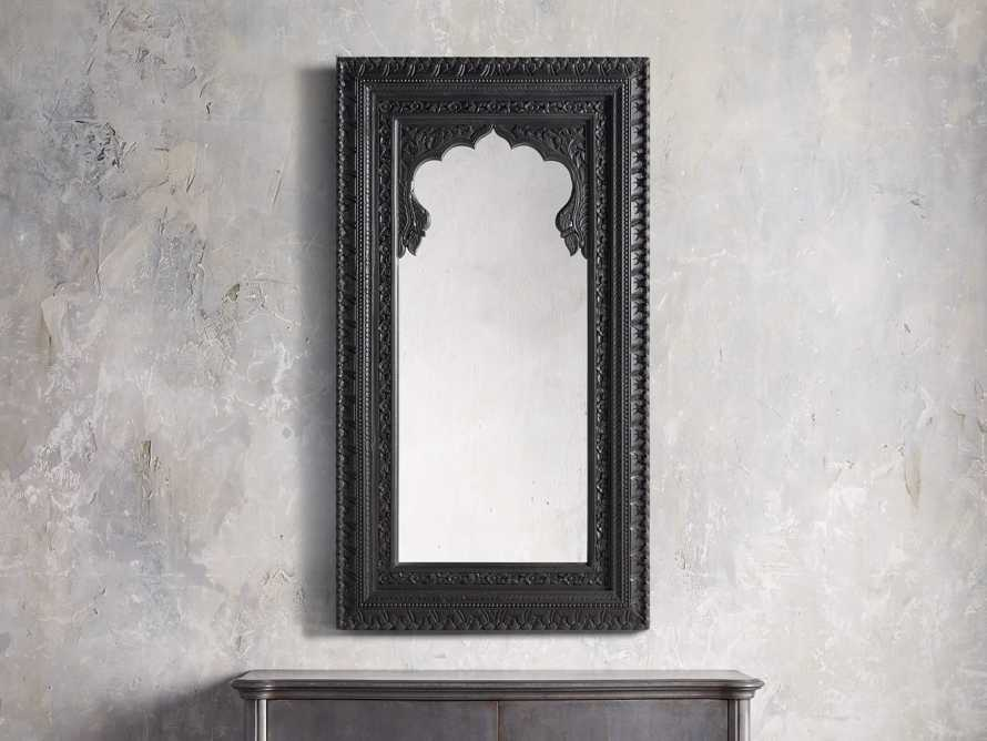 "72"" Noir Mirror, slide 1 of 3"