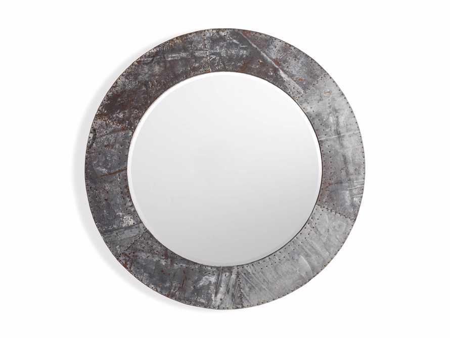 """42"""" Caspian Round Mirror, slide 3 of 3"""