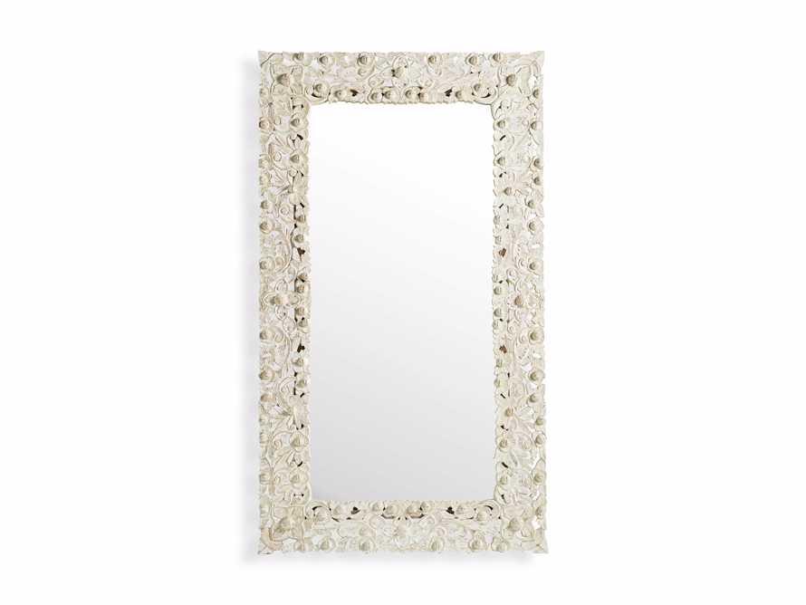 """48"""" Flourish Mirror in White, slide 3 of 3"""