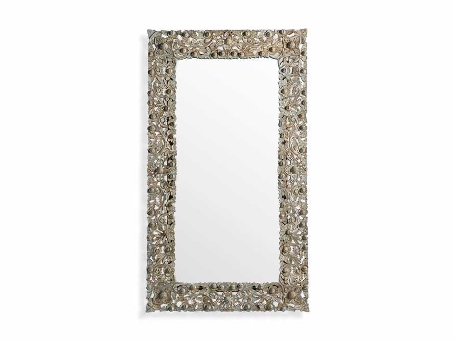 Flourish Mirror in Grey, slide 3 of 3