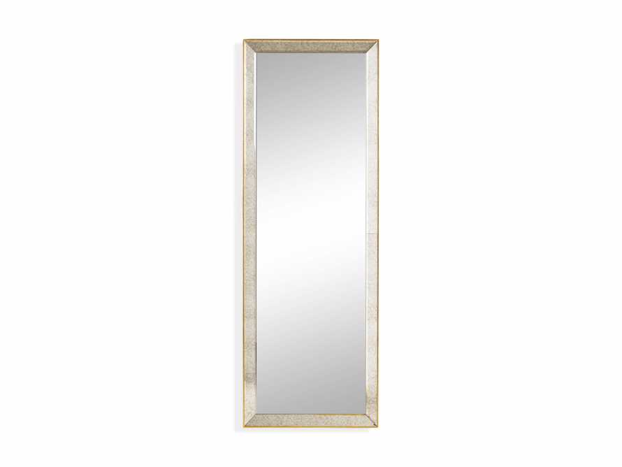 """MAISON 80"""" NARROW MIRROR IN GOLD, slide 3 of 3"""