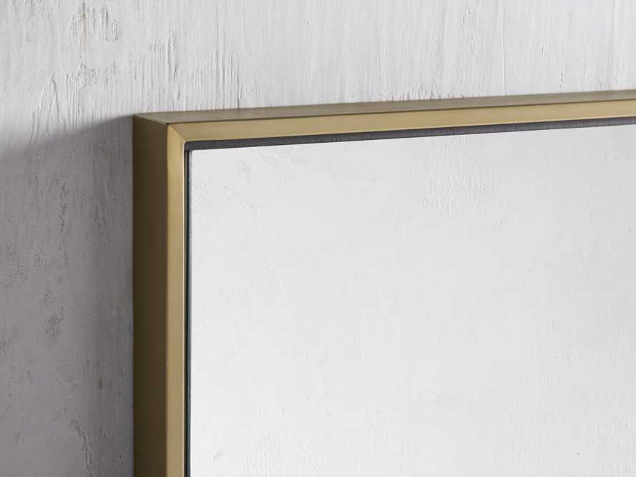 Linnea Mirror in Brass 36x48, slide 2 of 3