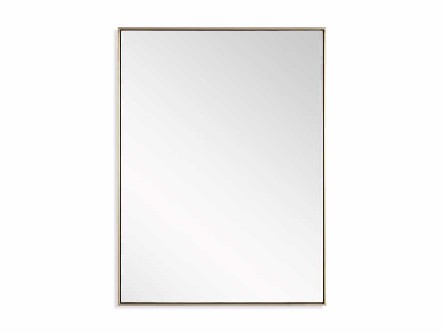 Linnea Mirror in Brass 36x48, slide 3 of 3