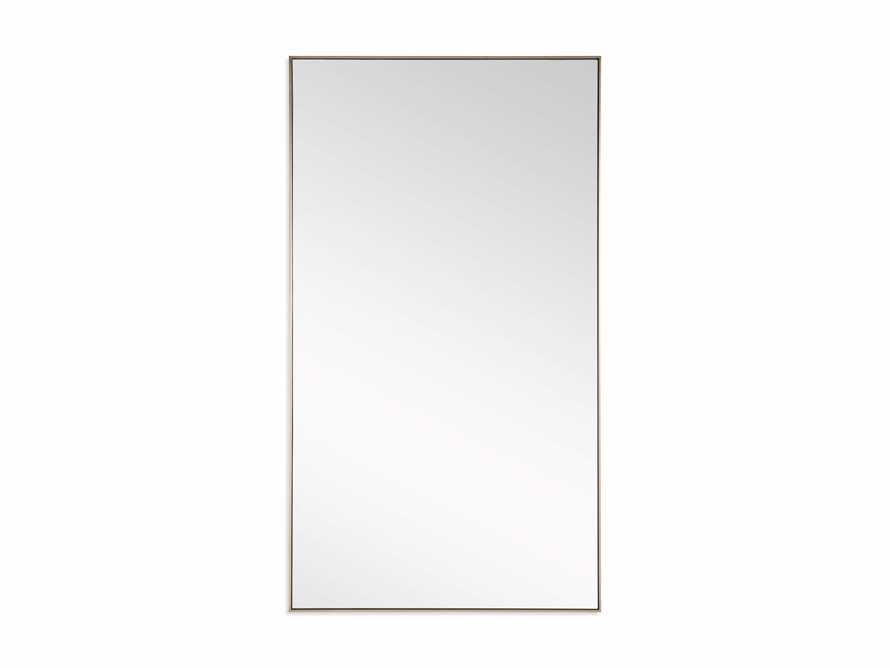 Linnea Floor Mirror in Brass 54x96, slide 3 of 3