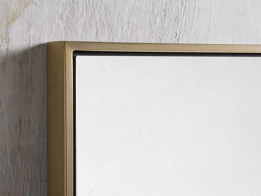 Linnea Mirror in Brass 35.5x75.25