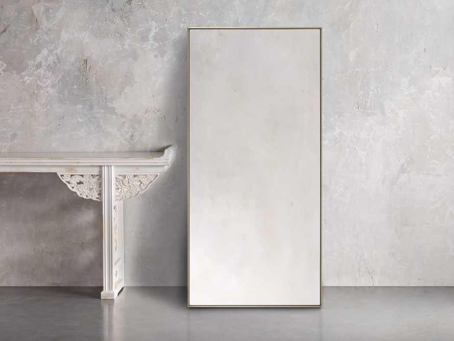 Linnea Mirror in Brass 35.5x75.25, slide 1 of 6