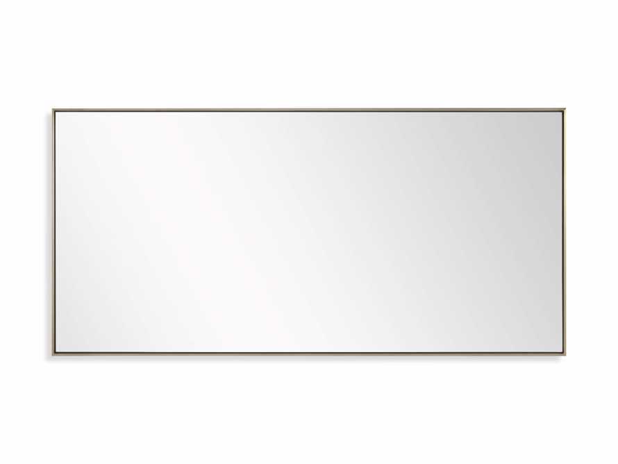 Linnea Mirror in Brass 35.5x75.25, slide 6 of 6