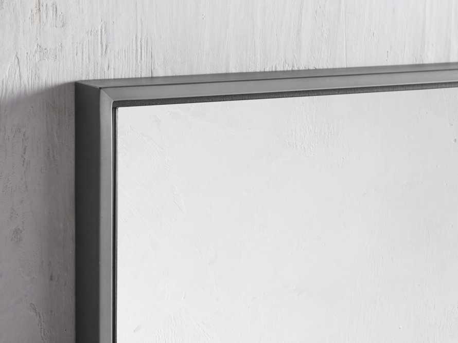 Linnea Mirror in Pewter 36x48, slide 2 of 4