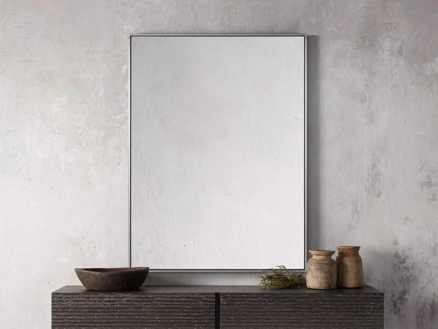 Linnea Mirror in Pewter 36x48, slide 1 of 4