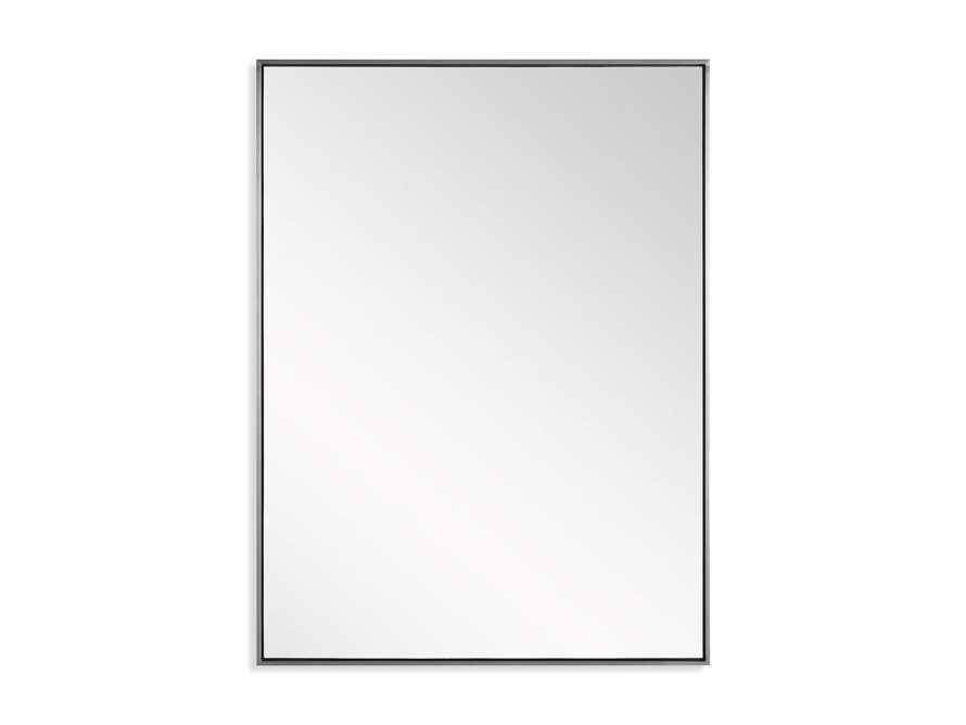 Linnea Mirror in Pewter 36x48, slide 4 of 4