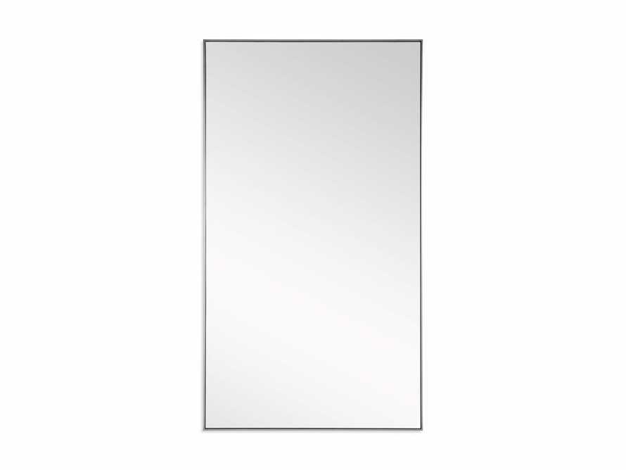 Linnea Floor Mirror in Pewter 54x96, slide 3 of 3