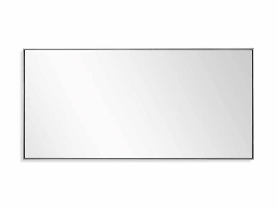 Linnea Mirror in Pewter 35.5x75.25, slide 3 of 3