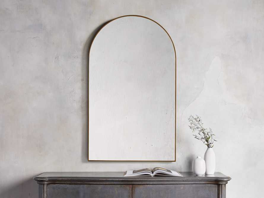 """ARCH 40"""" WALL MIRROR, slide 1 of 3"""
