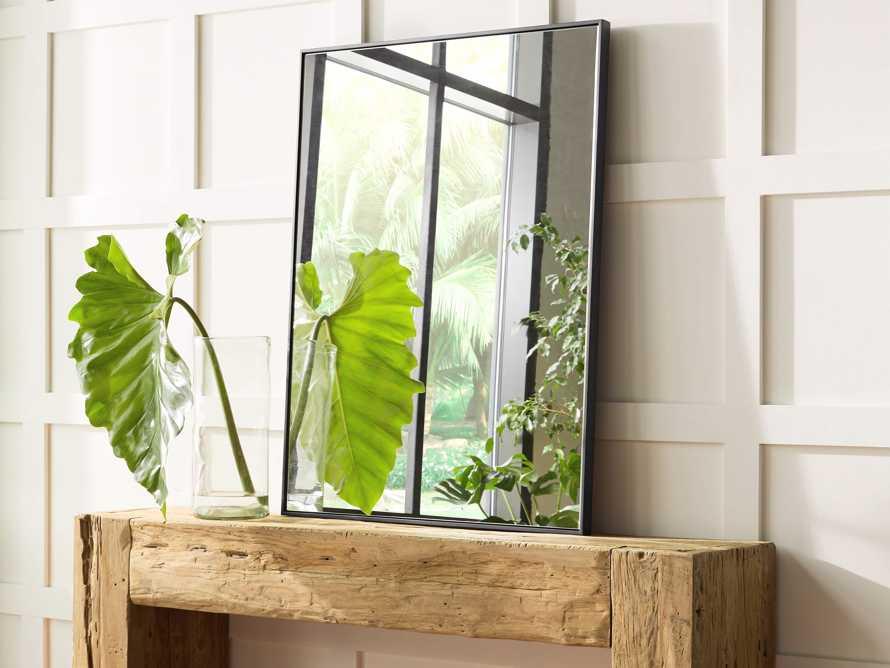 """36"""" x 48"""" Linnea Wall Mirror in Black, slide 3 of 4"""