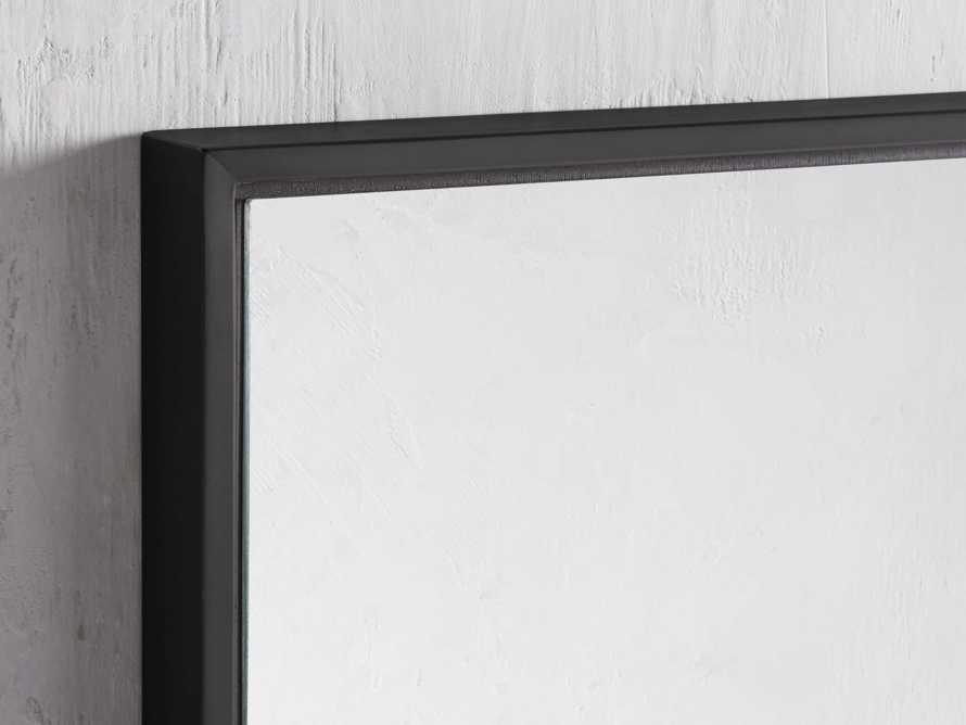 """36"""" x 48"""" Linnea Wall Mirror in Black, slide 2 of 4"""