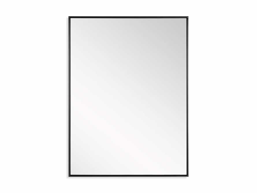 """36"""" x 48"""" Linnea Wall Mirror in Black, slide 4 of 4"""