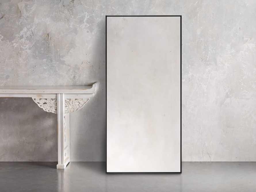 """36"""" x 74"""" Linnea Wall Mirror in Black, slide 1 of 4"""