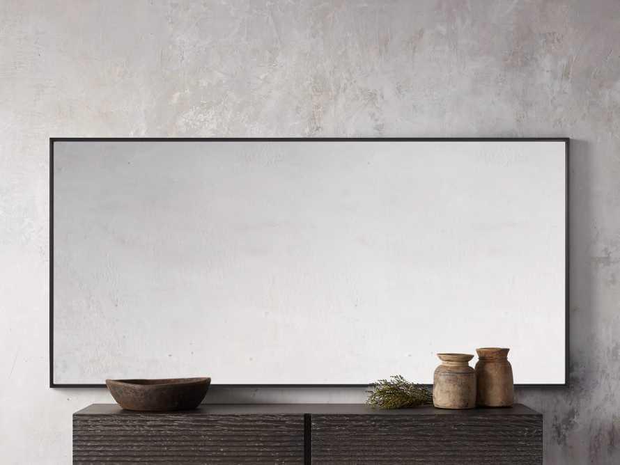"""36"""" x 74"""" Linnea Wall Mirror in Black, slide 2 of 4"""