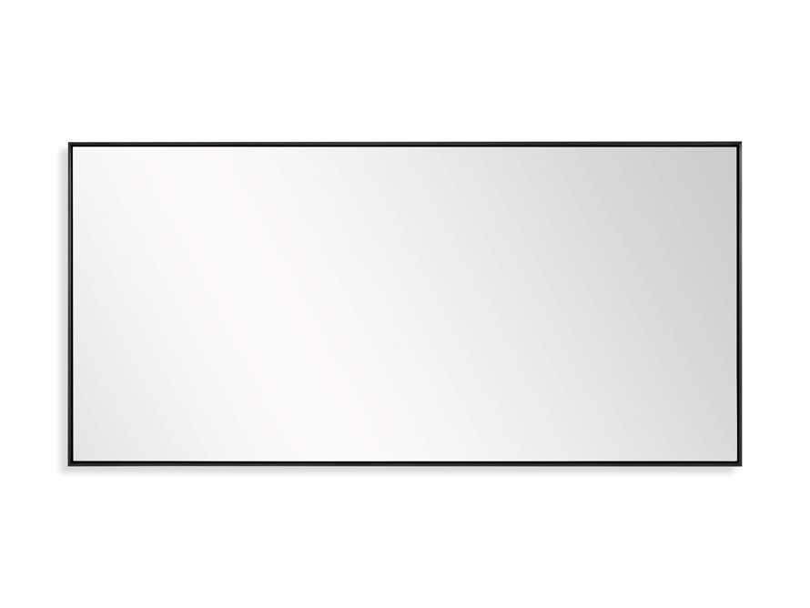 """36"""" x 74"""" Linnea Wall Mirror in Black, slide 4 of 4"""