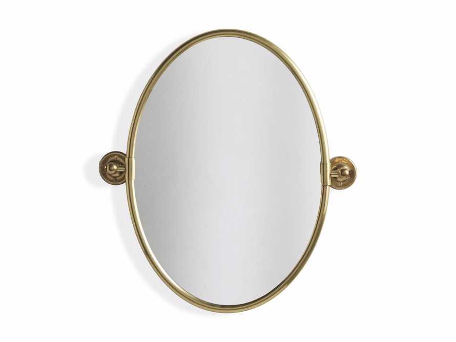 Swivel Oval Mirror, slide 3 of 3