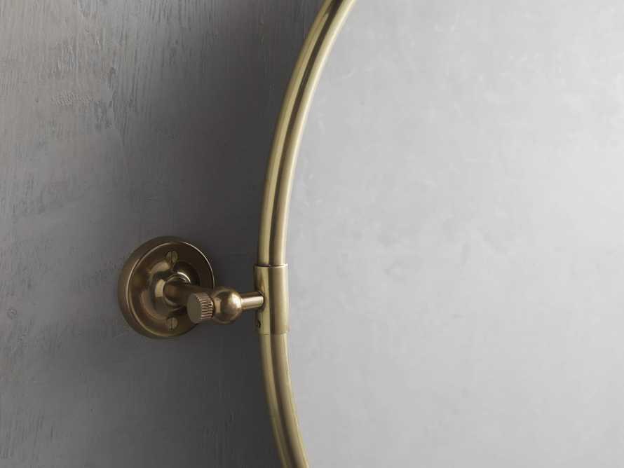 Swivel Oval Mirror, slide 2 of 3