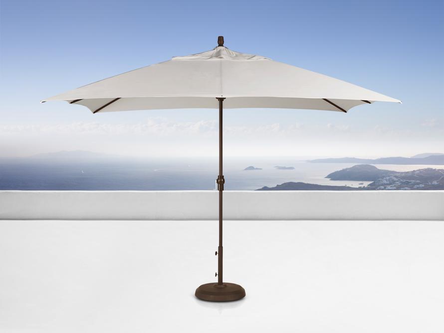8' x 11' Rectangle Umbrella in Champagne, slide 1 of 1