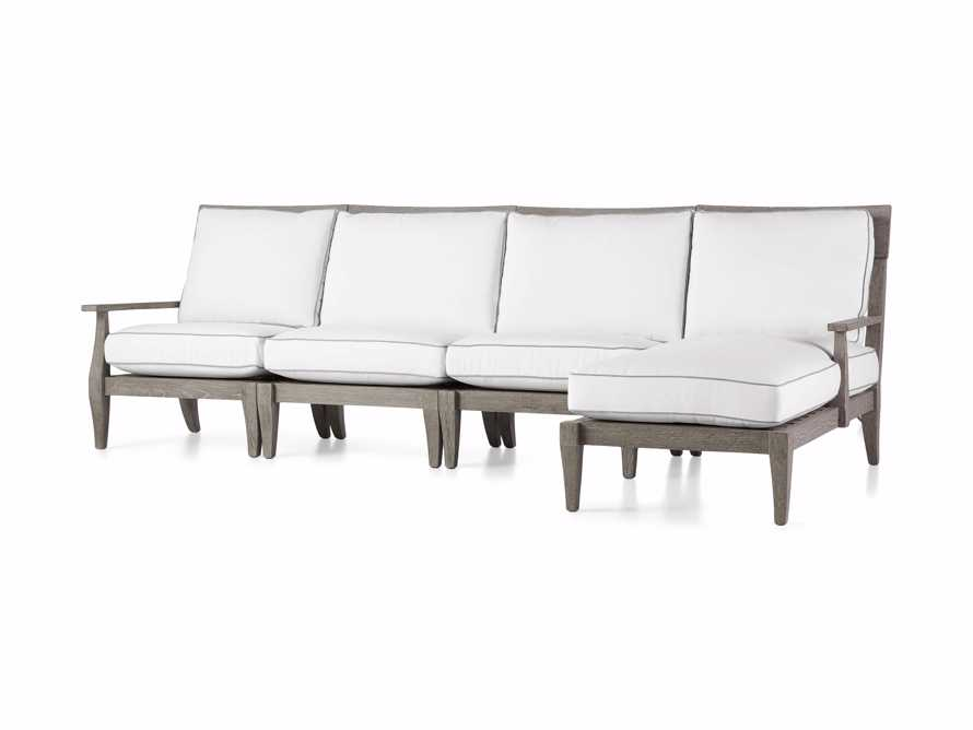 """Adones Outdoor 114.75"""" Four Piece Sectional, slide 3 of 4"""