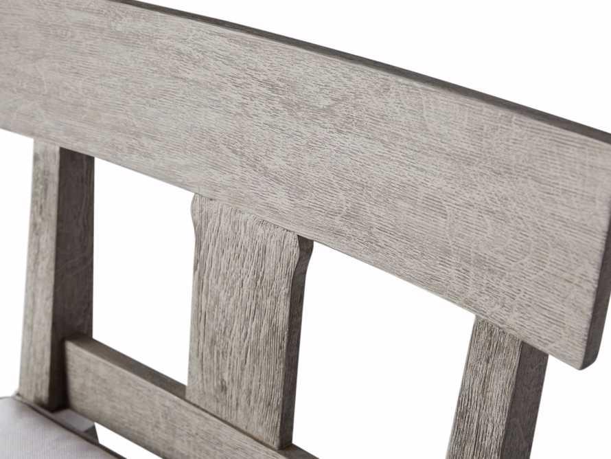 """Adones Outdoor 22.25"""" Barstool in Driftwood Grey, slide 6 of 6"""