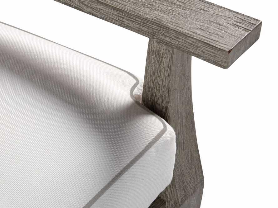 Adones Outdoor Lounge Chair Contrast Welt