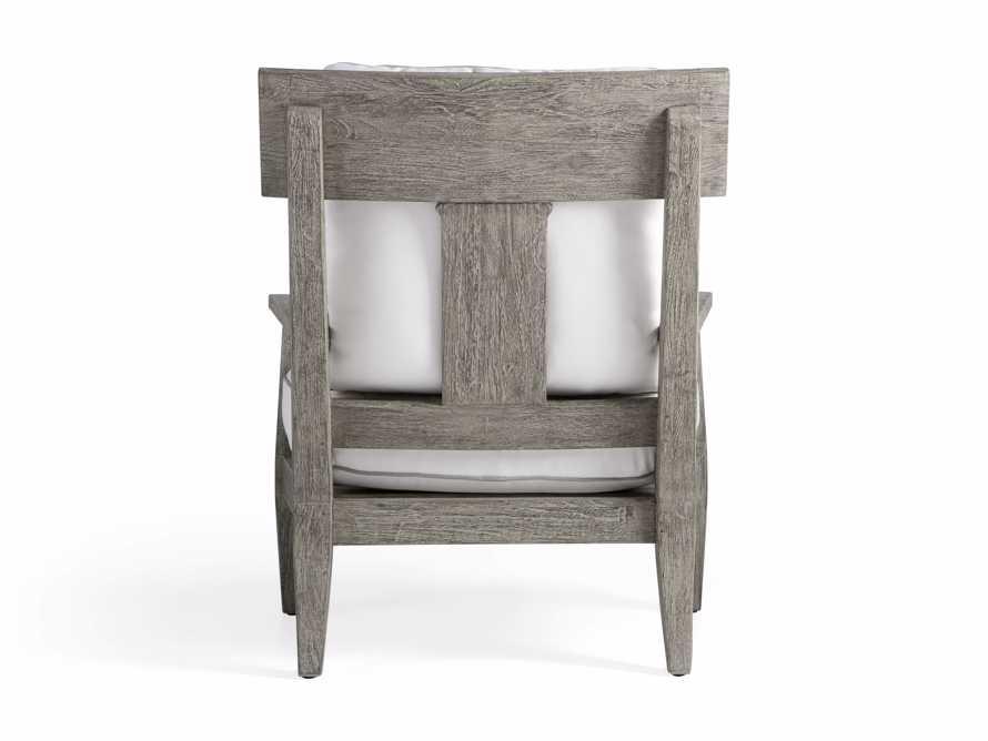 Adones Outdoor Lounge Chair Contrast Welt, slide 4 of 8