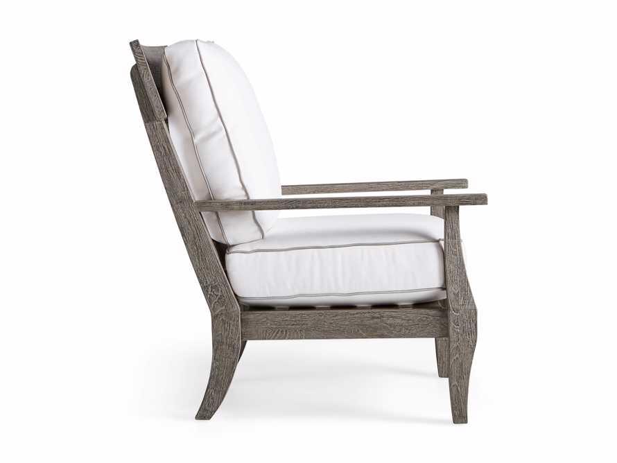 Adones Outdoor Lounge Chair Contrast Welt, slide 3 of 8
