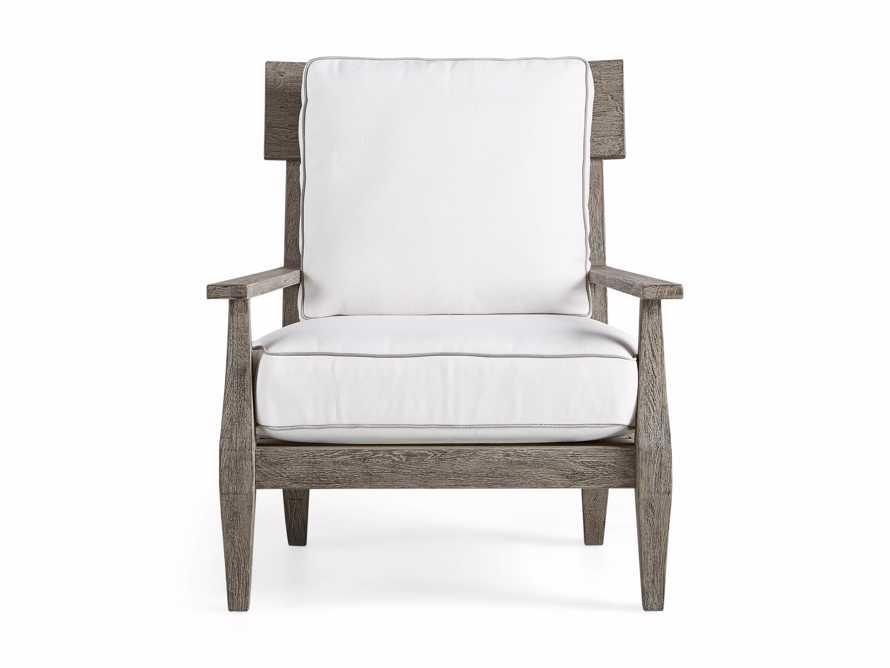 Adones Outdoor Lounge Chair Contrast Welt, slide 2 of 8