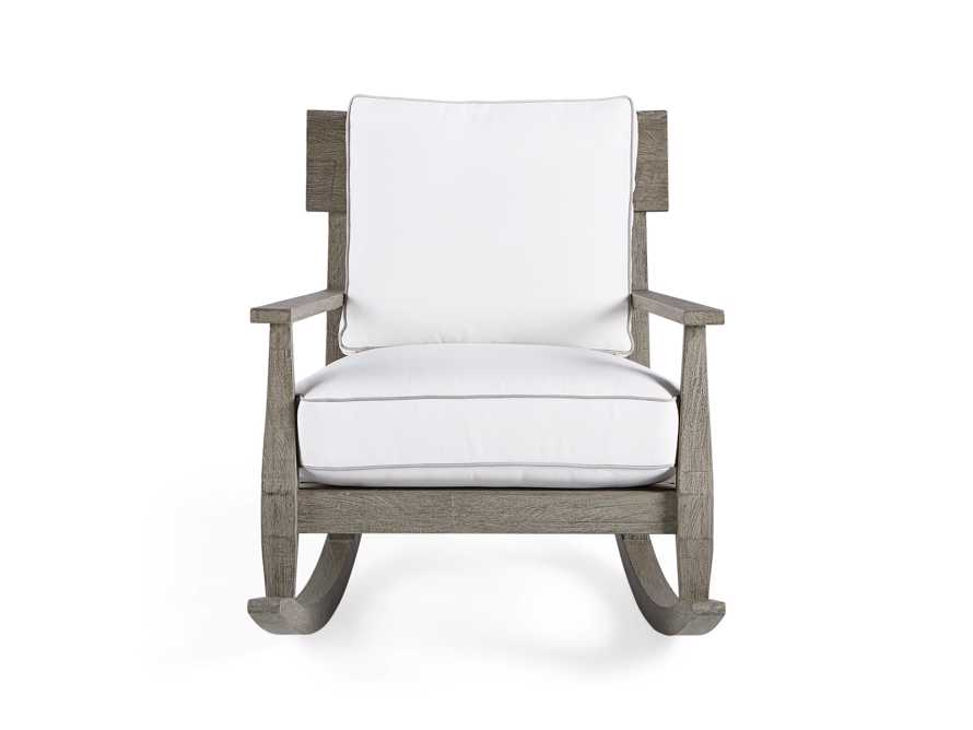 "Adones Outdoor 31"" Rocking Chair, slide 2 of 7"